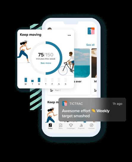 Screenshot from app